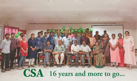 CSA celebrates 16th Foundation Day