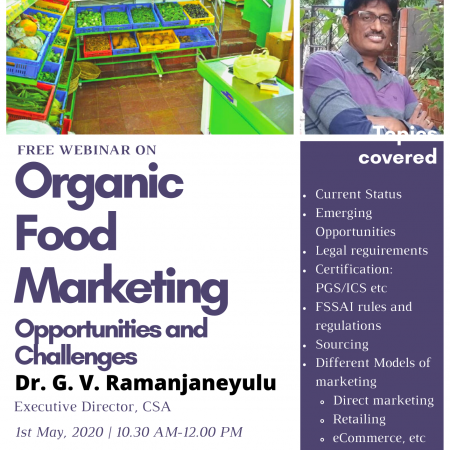 Organic Food Marketing – Opportunities and Challenges