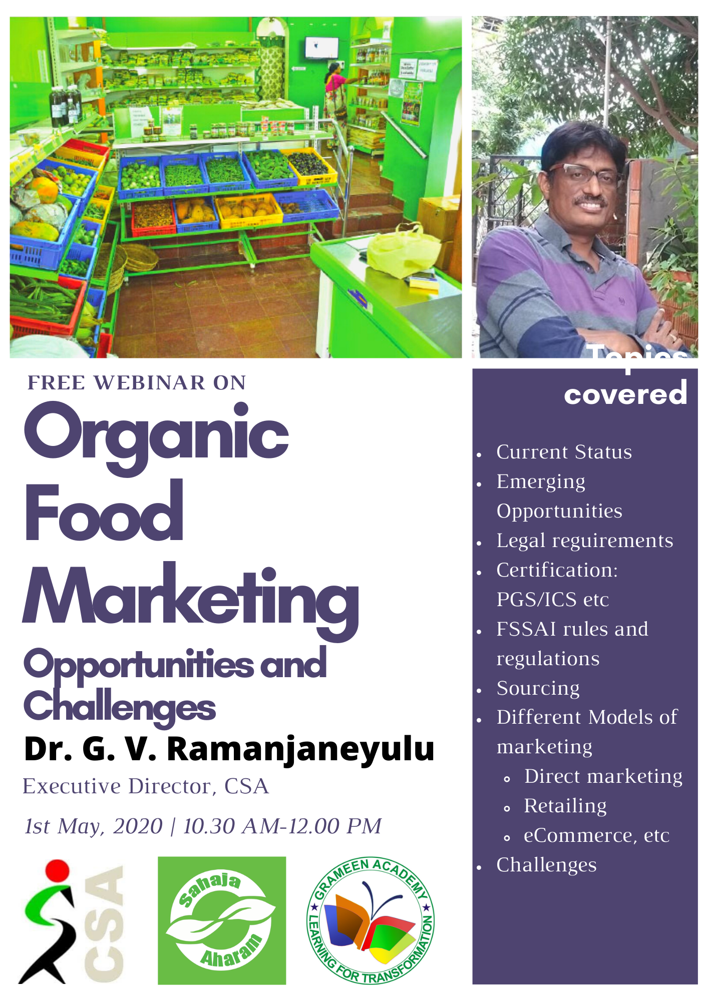 200501 Organic Food Marketing Opportunities and Challenges