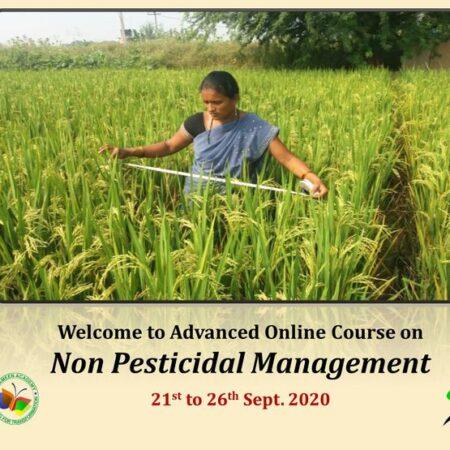 Advanced Course on Non Pesticide Management